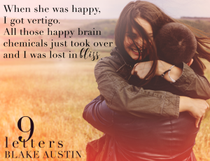 9 letters teaser for excerpt reveal