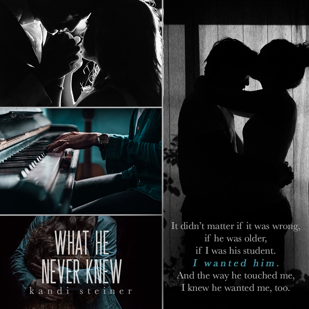 REVIEW – WHAT HE NEVER KNEW by Kandi Steiner – Wrapped Up In Reading